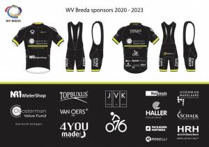 WV Breda sponsors 2020 - 2023